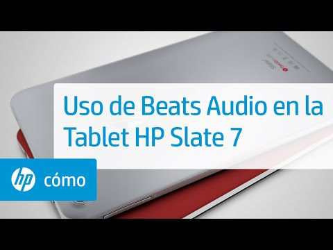Uso de Beats Audio en la Tablet HP Slate 7