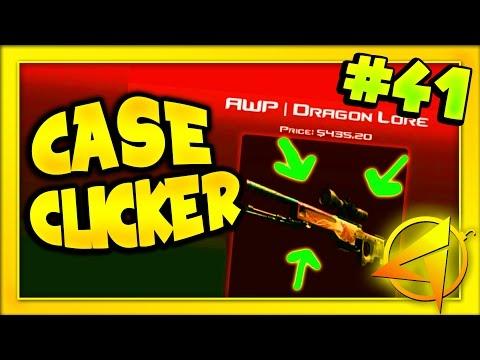 CSGO CASE CLICKER - INSANE 10% DRAGON LORE TRADE UP (CASE CLICKER) #41