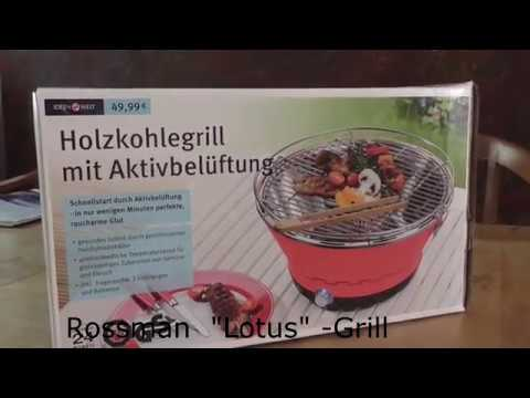 rossmann lotus grill test aufbau tutorial fazit youtube. Black Bedroom Furniture Sets. Home Design Ideas