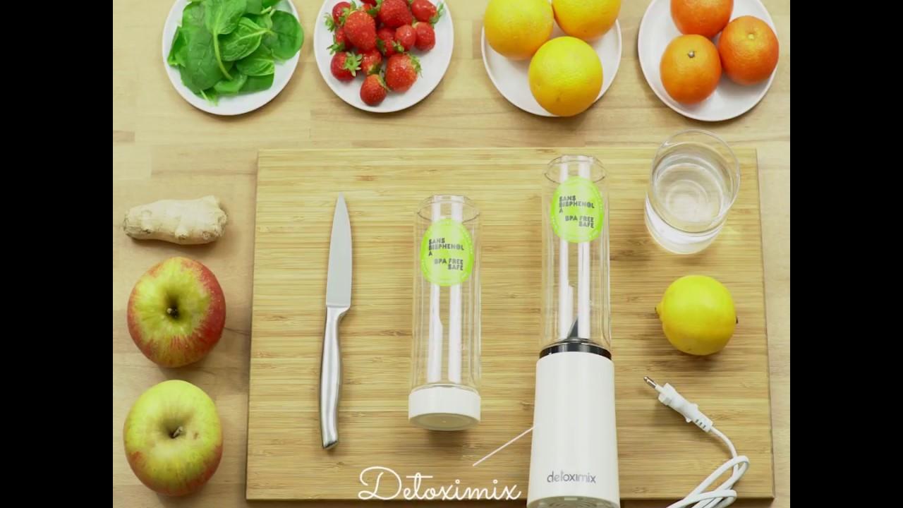 Recette de jus tonic avec le detoximix youtube - Cuisine nature et decouverte ...