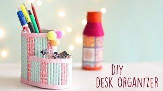 DIY Creative Desk Organizer | Desk Decor | Cardboard Organizer