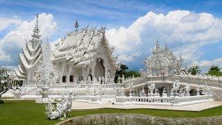 Amazing Thai Temple: Wat Ron Khun - White Temple in Chiang Rai (4K)