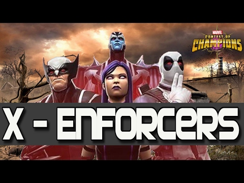 The X-Enforcers Event - X-force Hype + Who are they? [Comic Book History/MCOC]