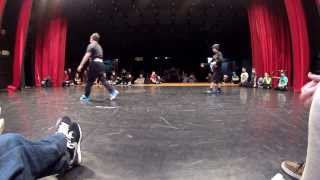 Marko vs Majko - Kids Final Battle @ Bboy King Battle 2014, Bratislava