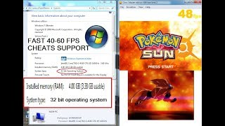 DOWNLOAD FAST CITRA 32 BIT 100% WORKING ( WITH VOICE ) 32 BIT BUILDS with POKEMON SUN DOWNLOAD LINK