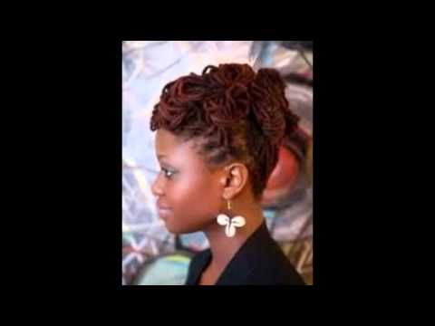Dreadlock updo hairstyles youtube pmusecretfo Image collections