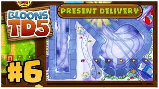 BRAND NEW CHRISTMAS MAP! | Bloons Tower Defense | BTD 5 Gameplay Part 6