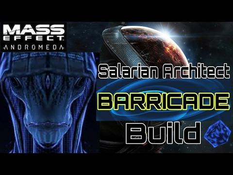 Mass Effect Andromeda Best Gold Salarian Architect Barricade Build