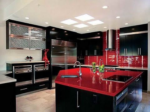 kitchen cabinets red black kitchen cabinets black kitchen cabinets and wall 3191