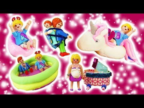 Playmobil Videosammlung | Neue Accessoires, Kleidung & Möbel für Familie Vogel + Romy & Raul
