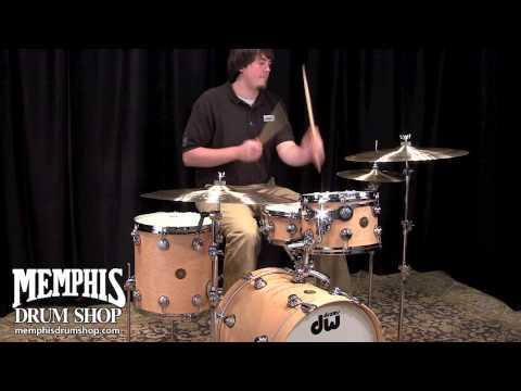 DW Jazz Series Exotic Birdseye Maple Drum Set - Hard Satin
