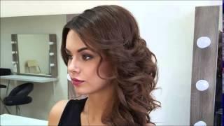 видео Прическа и макияж на свадьбу