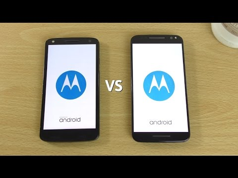 Moto X Force (Droid Turbo 2) VS Moto X Style (Pure) Android 6.0 Marshmallow  - Speed Test!