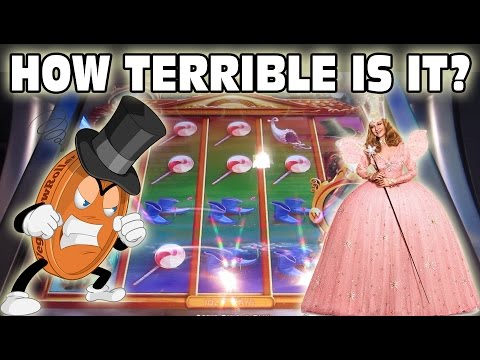 How terrible is the newest Wizard of Oz slot?