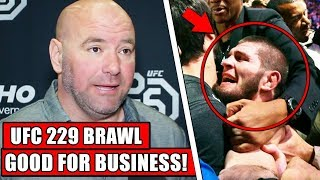 Dana White admits UFC 229 Melee was