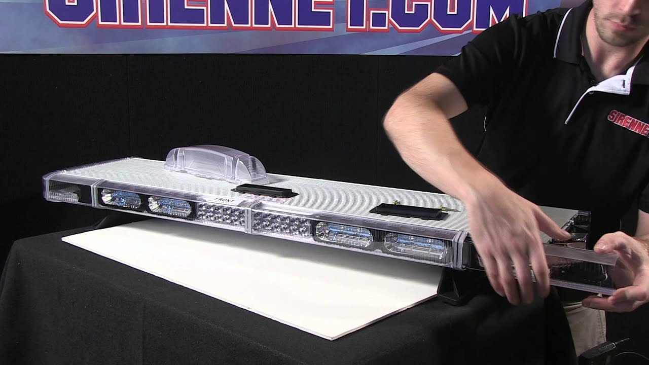 hight resolution of chris shows how to add modules to a whelen liberty bar