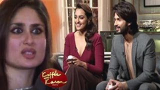 Kareena Kapoor REACTS to Shahid Sonakshi TAUNTS on Koffee With Karan 9th February 2014 EPISODE