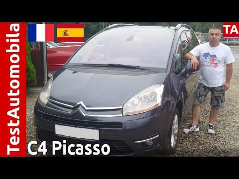 CITROEN C4 Picasso 2.0 HDi TEST - MPV na Francuski način