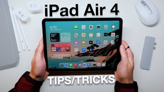 How to use iPad Air 4 + Tips/Tricks!
