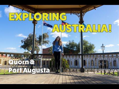 EXPLORING SOUTH AUSTRALIA: QUORN & PORT AUGUSTA #jackiegoesaussie