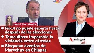 #AristeguiEnVivo 17 de octubre: ¿Fiscal hasta 2018?; pendientes en la PGR y más…