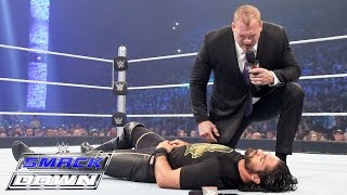 Kane demands that Seth Rollins lie down for him: SmackDown, April 23, 2015