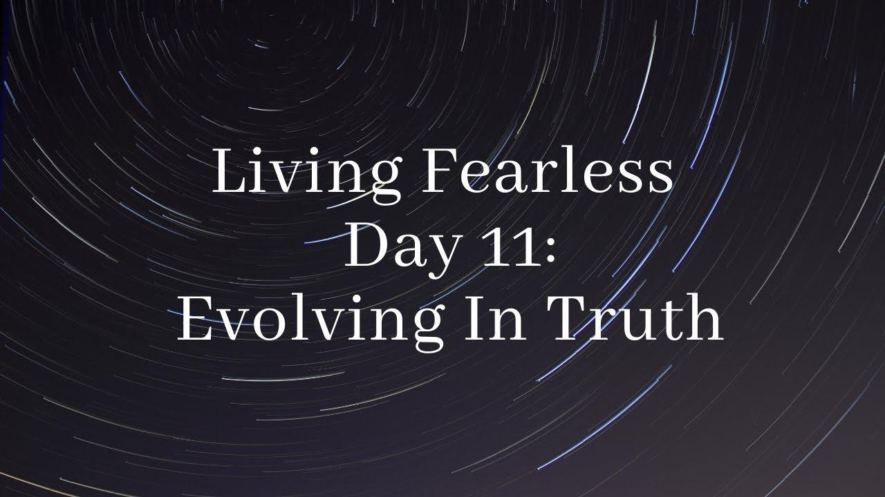 Evolving in Truth