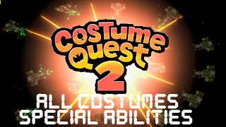 Costume Quest 2 - All Costumes Special Abilities