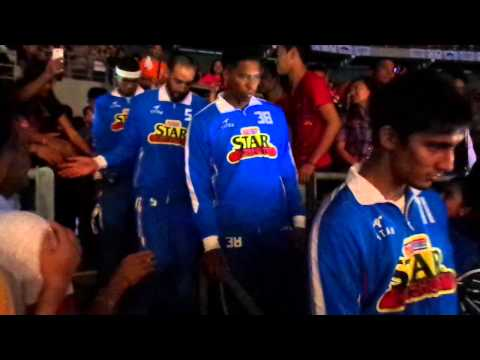 Purefoods Star Hotshots (Introduction) @ Philippine Arena