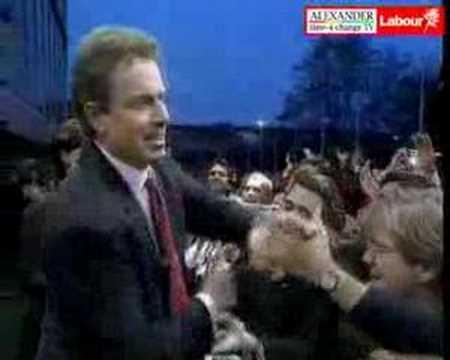 UK Labour Party - 3 Historic Election Victories 2005 - 1