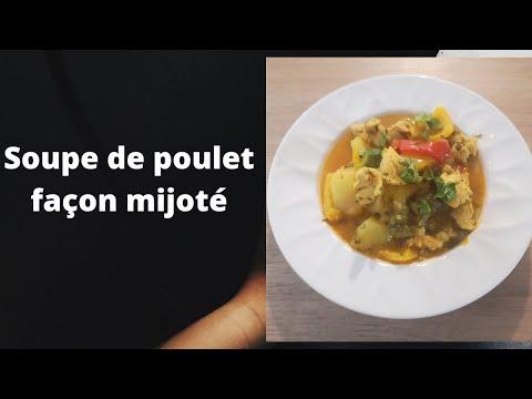soupe-de-poulet-façon-mijoté
