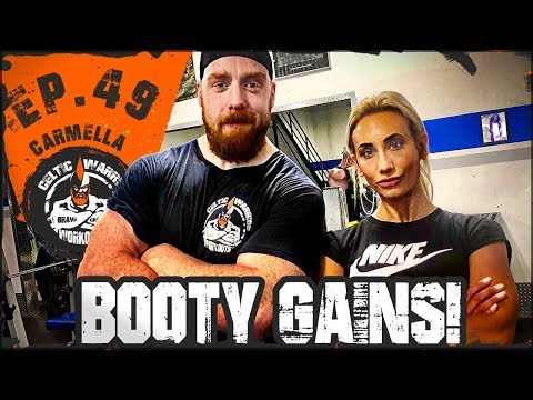 Carmella Booty Gains | Ep.49 Glutes Workout
