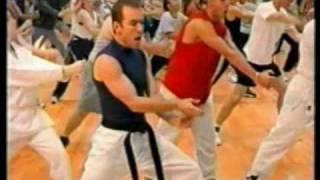 Sketch Pad Kung Fu porn aerobics