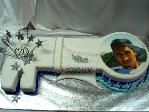 Guru Chef Rohan Creates A 21st Birthday Key Shaped Cake