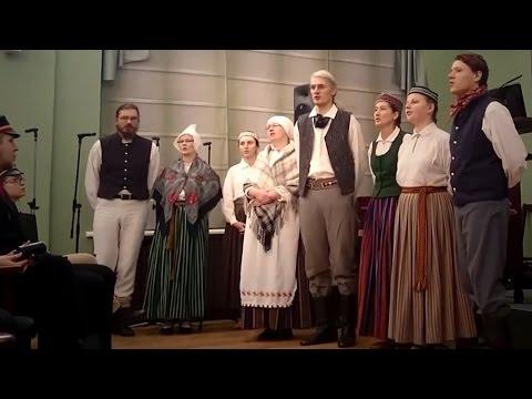Latvian War Song DANDARI - Div'dūjiņas gaisā skrēja (Karavīru Dziesma)
