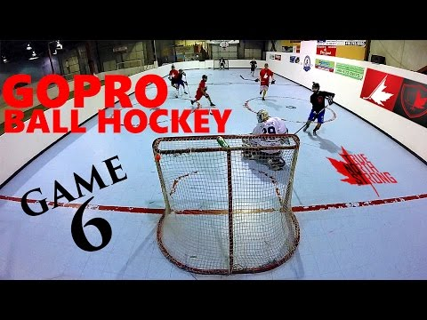 GoPro Ball Hockey Game 6 | 4 GoPro