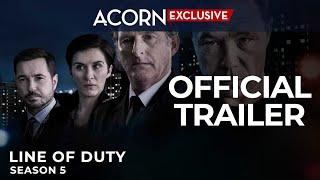 Acorn TV Exclusive | Line of Duty Season 5 | Premiering May 13