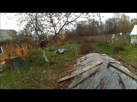 Хранение картофеля // Бурт // Подполье // Жизнь в деревне