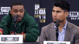 "ERROL SPENCE SNAPS AT MIKEY GARCIA AS BOTH GO BACK AND FORTH! ""IM NOT YOUR OTHER OPPONENTS!"""