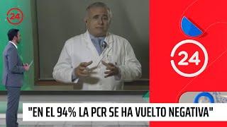"""Doctor Ugarte por ivermectina: """"Hemos descubierto que en el 94% la PCR se ha vuelto negativa"""""""