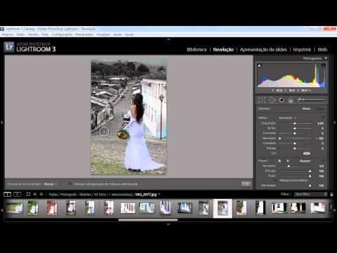 Tutorial Lightroom (Detalhe colorido em foto preto e branco) from YouTube · Duration:  2 minutes 14 seconds