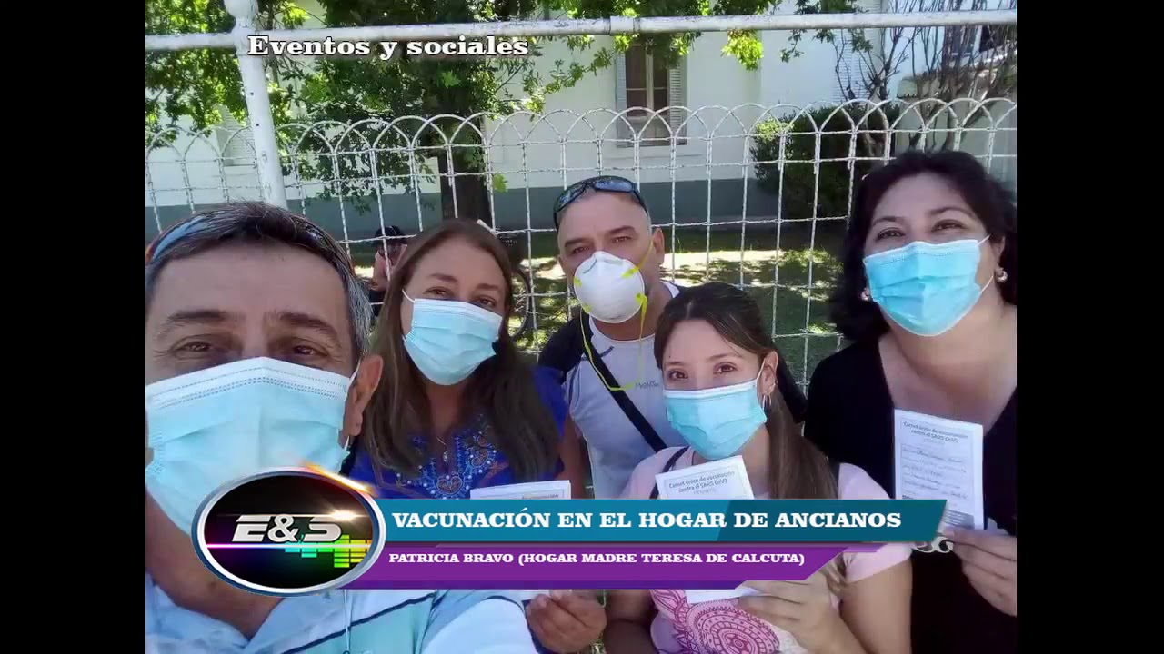 """""""El personal del hogar ya se vacunó y en unos días vacunarán a los abuelos """""""