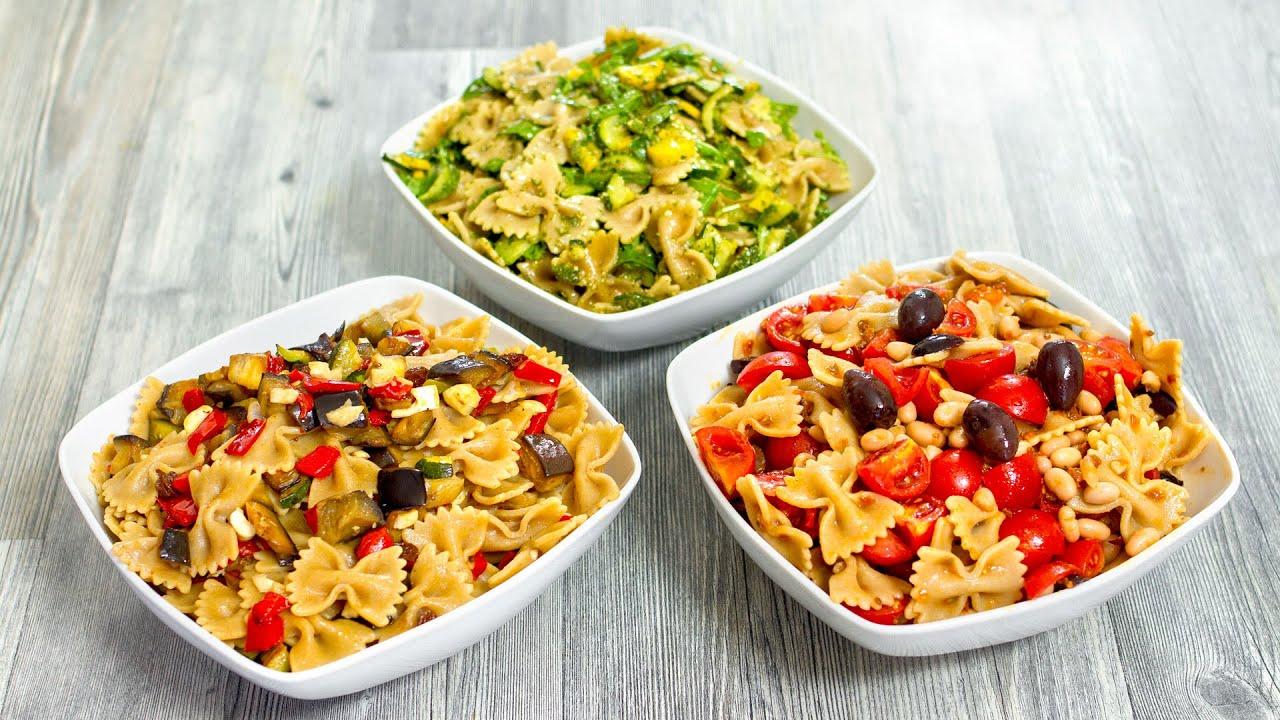 3 idee facili e golose per preparare la pasta fredda for Primi piatti di pasta