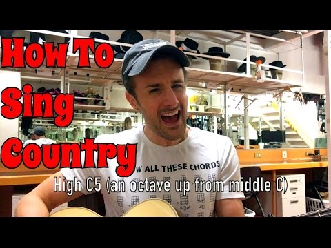 How To Sing Country Music Like Keith Urban