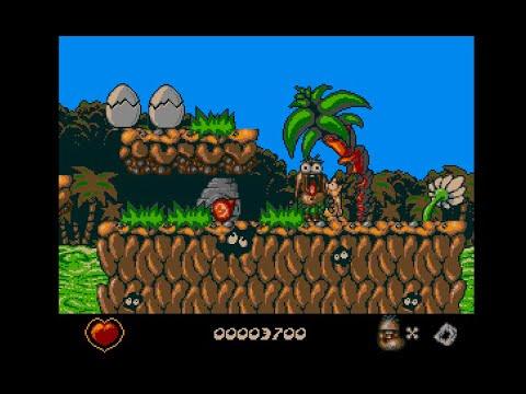 Chuck Rock (Acorn Archimedes game 1991)