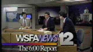 WSFA-TV NEWS 12 JUNE 1986