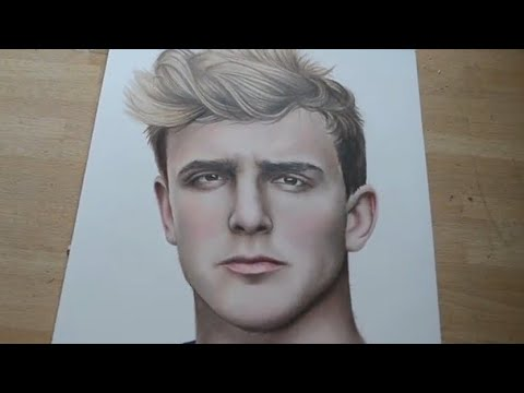How to draw jake paul