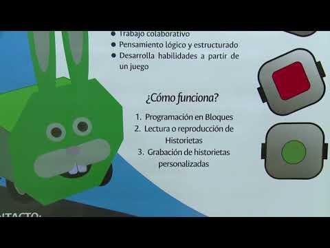 Bunny Code: niños programando robótica #ViveDigitalTV C12-N4