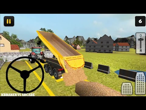 Farm Tractor 3D Maize 2017 - Android GamePlay FHD