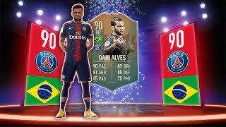 NEW FLASHBACK SBC! - 90 DANI ALVES! - FIFA 19 Ultimate Team